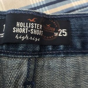 Hollister Shorts - Hollister high rise shorts